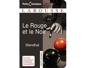 Première de couverture du Rouge et le Noir, Éditions Larousse 2019
