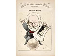 André Gill, caricature de Victor Hugo