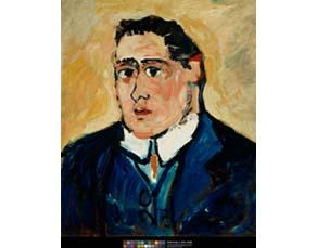 Maurice de Vlaminck, Le Portrait d'Apollinaire (1904)
