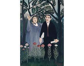 Le Douanier Rousseau, Le poète et sa muse (1909)