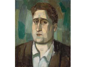 Jean Metzinger, Portrait de Guillaume Apollinaire (1910)