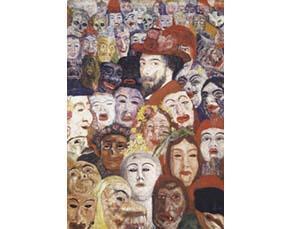James Ensor, Ensor aux masques (1899)