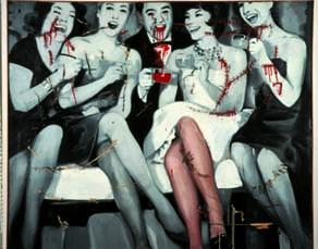 Gerhard Richter, Party (1963)