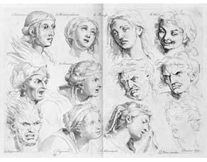 Charles Le Brun (1619-1690), Expressions des passions de l'âme (1668)