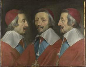 Philippe de Champaigne (1602-1674), Triple Portrait du cardinal Richelieu (1642)