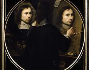 Johannes Gumpp (1626-1728), Autoportrait (1646)
