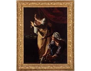 Artemisia Gentileschi, Judith et sa servante (vers 1625-1627)
