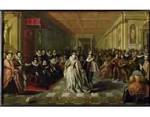 École française, Le Bal des noces du duc de Joyeuse (vers 1851)