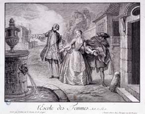 François Joullain, L'École des femmes de Molière (1726)