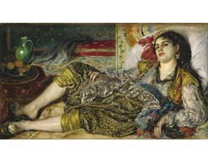 Pierre-Auguste Renoir, Odalisque, femme algérienne