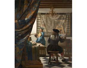 Johannes Vermeer, L'Art de la peinture (1666)