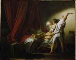 Jean-Honoré Fragonard, Le Verrou (vers 1777)
