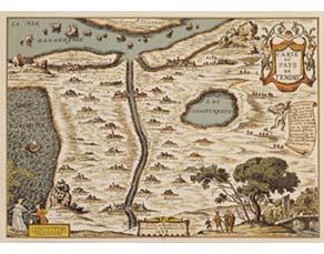 François Chauveau, Carte de Tendre (1654)