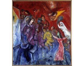 Marc Chagall, L'Apparition de la famille de l'artiste (1935-1947)