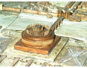 Le mausolée d'Hadrien (château Saint-Ange)