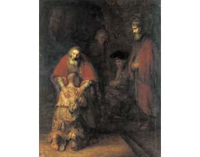 Rembrandt van Rijn, Le Retour du fils prodigue (vers 1668)
