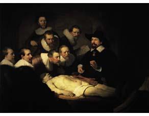 Rembrandt, La Leçon d'anatomie du docteur Tulp (1632)