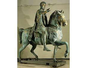 Statue équestre de Marc-Aurèle (IIe siècle)